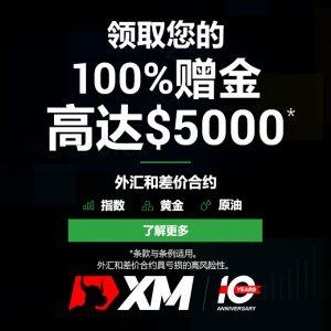 XM交易平台10周年曾进活动